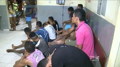 Onze pessoas são detidas e três menores, apreendidos, em São José de Ribamar - Operação da PM foi realizada nessa segunda (14)