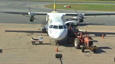 Empresários cobram volta de voos internacionais em aeroporto de MT - Empresários cobraram a volta de voos internacionais no Aeroporto Marechal Rondon.