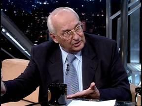 Advogado Ives Gandra Martins é um dos mais respeitados tributaristas brasileiros - Ele mostra também seu lado poeta.