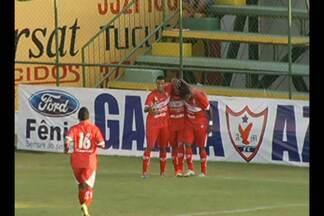 Veja os gols de Águia 0 x 2 CRB, pela Série C - Confronto foi realizado no Estádio Zinho Oliveira, em Marabá.