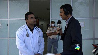 Médico fala sobre saúde da família que foi resgatada após desabamento - Médico fala sobre saúde da família que foi resgatada após desabamento em Aracaju