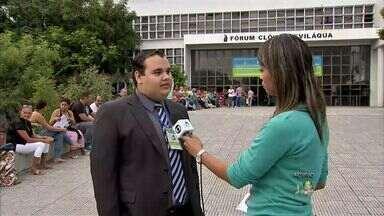Fórum Clóvis Beviláqua recebe um mutirão de audiências do seguro DPVAT - Estão agendadas cerca de 1.300 audiências para esta semana.