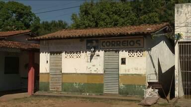 Agência dos Correios está fechada há mais de um mês em Ribamar Fiquene - População precisa se deslocar para outras cidades para ter atendimento do serviço