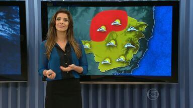 Massa de ar frio e seco volta a ganhar força em Minas Gerais - A mínima, em BH, caiu para 13 ºC.