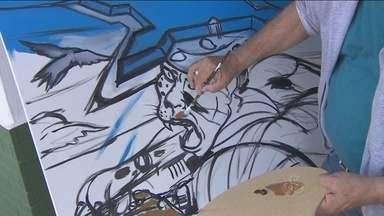 Artistas plásticos de Porto Velho participam de concurso de pintura na 17ª Brigada - A proposta é valorizar o artista rondoniense.