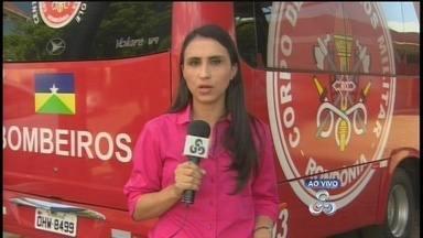 Rondônia TV fala sobre focos de queimadas no estado - Gabriela Cabral fala do Comando do Corpo de Bombeiros em Porto Velho.