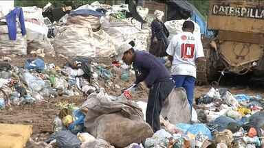 Prazo para acabar com os lixões nas cidades brasileiras termina em 11 dias - No Maranhão, apenas três por cento dos municípios vão conseguir cumprir a lei de resíduos sólidos. A situação no estado é alarmante: aqui existem mais lixões que cidades.