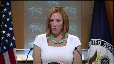 Autoridades de várias partes do mundo protestam contra a morte de civis - O ataque à escola em Gaza provocou reação imediata na Organização das Nações Unidas. A porta-voz do departamento de estado americano, Jen Psaki afirmou que o bombardeio à escola ressalta a necessidade de se chegar ao cessar-fogo.
