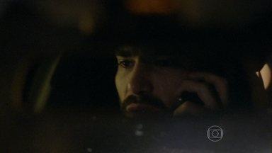 José Pedro atropela homem e foge sem dar assistência - Filho mais velho de José Alfredo dirige em alta velocidade e não consegue evitar o acidente