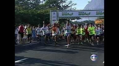 Corrida e Caminhada Esperança reúne atletas e amadores no Aterro do Flamengo - O evento reúne 2,3 mil corredores no Aterro do Flamengo, no domingo (3). São percursos que variam entre 4km e 6km.