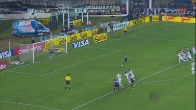 Ponte Preta é eliminada da Copa do Brasil pelo Vasco no Rio de Janeiro - Ponte Preta é eliminada da Copa do Brasil pelo Vasco no Rio de Janeiro. Confira os três gols.