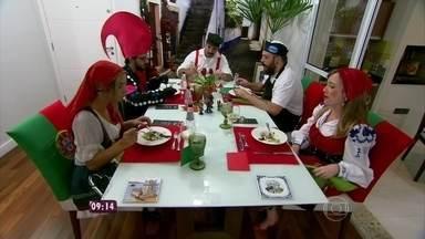 Jantar de Adriano leva Jogo de Panelas XI para Portugal - Ana Maria recebe o publicitário para debater seu jantar