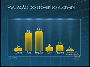 Pesquisa revela primeiros resultados das eleições de 2014 - O Ibope revela o resultado da primeira pesquisa sobre a corrida ao governo do Estado de São Paulo, nas eleições de 2014. A pesquisa foi contratada pela TV Globo.