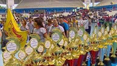 Com mais de dois mil atletas, Jogos Escolares do Amazonas inciam com abertura oficial - Cerimônia ocorreu na tarde desta quarta-feira, na Arena Amadeu Teixeira, em Manaus.