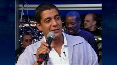 Musical com Zeca Pagodinho - Em 2000, ele cantou a música tema de abertura da novela O Cravo e a Rosa