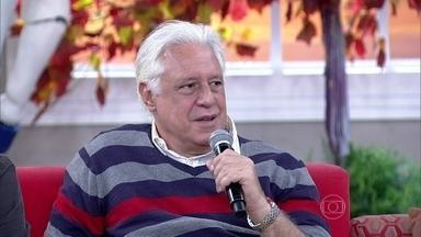 Antônio Fagundes relembra professor que mais marcou - Rodrigo Lombardi conta que teve um professor chamado Boni
