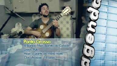 Confira as atrações culturais de Ponta Grossa e região para o fim de semana - A Banda mais Bonita da Cidade faz show pela primeira vez em Ponta Grossa