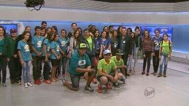 Estudantes de Jeriquara conhecem bastidores da EPTV - Visita faz parte da programação do EPTV na Escola.