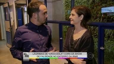 Drica Moraes define Cora: 'É uma mulher tresloucada' - Didi Effe mostra os bastidores do show de falsidade da personagem