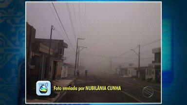 Neblina muda cenário no interior de Sergipe - Neblina muda cenário no interior de Sergipe.