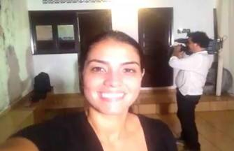 Flávia Lima fala sobre os preparativos do 'Pé de Valsa' - Repórter acompanhou bastidores do concurso
