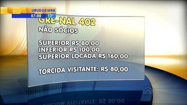 Futebol: ingressos para o Gre-Nal já estão sendo vendidos pela internet - Apenas sócios do tricolor poderão comprar ingressos disponíveis para torcida do Grêmio.