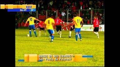 Futebol: São Paulo-RS e Brasil de Pelotas trocam mandos de campo - No último ano, o Brasil de Pelotas perdeu dois mandos após confusão em estádio.