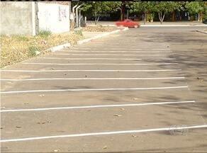 Após reportagens, estacionamento no centro de Palmas é sinalizado e iluminado - Após reportagens, estacionamento no centro de Palmas é sinalizado e iluminado