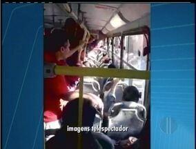 Moradores de Campos, RJ, reclamam das condições do transporte público da cidade - Moradores de Campos, RJ, reclamam das condições do transporte público da cidade.