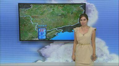 Confira a previsão do tempo para esta quinta-feira (7) no Sul de Minas - Confira a previsão do tempo para esta quinta-feira (7) no Sul de Minas