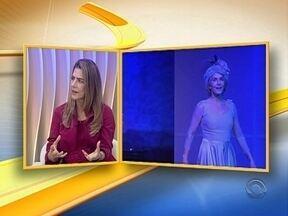 Maitê Proença apresenta peça em Florianópolis - Maitê Proença apresenta peça em Florianópolis