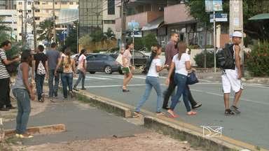 86 pessoas já foram atropeladas em São Luís este ano, segundo SSP - Principal motivo seria imprudência de motoristas e pedestres