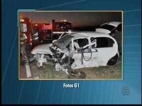 Agente penitenciário morre em acidente na Rodovia Raposo Tavares - Veículo atingiu outro carro no trecho de Presidente Venceslau.