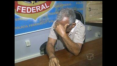 Ex-funcionário público investigado por fraude é preso em Santarém - Polícia Federal afirma que ele falsificava documentos públicos.Após receber denúncia, PF começou a investigar o suspeito.