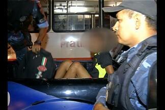 Equipe da TV Liberal registra vários assaltos no bairro do Tapanã, em Belém - Confira na reportagem.