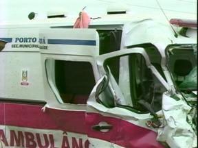 Uma pessoa morreu e outras sete ficaram feridas em um acidente em Tuparendi, RS - Uma ambulância da Secretaria de Saúde de Porto Mauá, RS, e uma caminhonete colidiram no acesso a cidade.