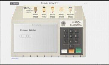 Na internet, ferramenta simula votação no Brasil - Para treinar no simulador basta acessar o site do TSE.