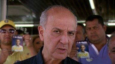 Arruda faz campanha em duas cidades do DF - O candidato Arruda fez campanha em duas cidades do DF. Ele caminhou em Samambaia Norte.