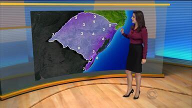 Frio volta ao RS nesta quarta (13) - Mínima deve ser de 6 graus em Porto Alegre.