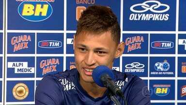 Cruzeiro se prepara para partida contra o Santos pelo Campeonato Brasileiro - O Santos já fez grandes jogos contra a equipe mineira.