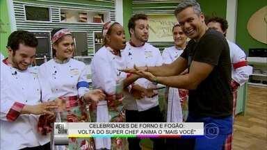 Otaviano Costa prova o tempero do Super Chef - Confira a pressão em que estão os participantes