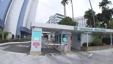Médicos da rede privada suspendem as atividades no Hospital Espanhol, em Salvador - Novos atendimentos foram suspensos na unidade.