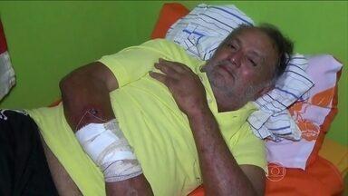 Homem sobrevive 12 dias perdido na floresta amazônica - Gileno Vieira da Rocha resolveu voltar a pé para a cidade quando se perdeu na mata. Gileno contou que passou fome e só conseguiu sobreviver porque comeu abelhas e moscas.