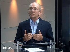 Candidato ao governo de SC Paulo Bauer é entrevistado no RBS Notícias - Candidato ao governo de SC Paulo Bauer é entrevistado no RBS Notícias