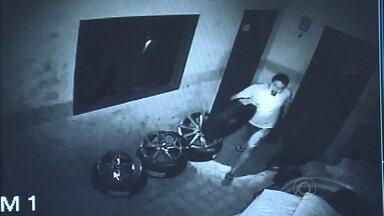JPB2JP: Ladrões furtam pneus novos de depósito no interior da Paraíba - Crime na cidade de Ingá.