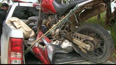 JPB2JP: Jovem foi detido com 3 motos roubadas no Litoral Sul da Paraíba - Polícia procurava homem acusado de assassinatos.