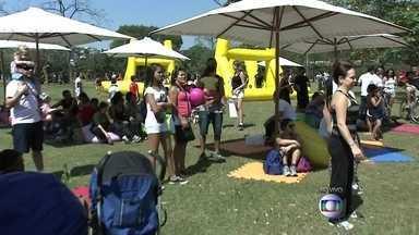 Fim de semana com programação especial em homenagem aos 60 anos do Parque do Ibirapuera - O Parque, que completou 60 anos na quinta-feira (21), está com programação especial no fim de semana. A família inteira pode aproveitar as atrações, como shows, atividades físicas e cinema ao ar livre.