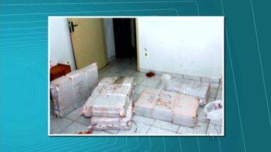 Polícia apreende 200 quilos de maconha em Umuarama - Droga foi apreendida durante uma operação da Polícia Civil