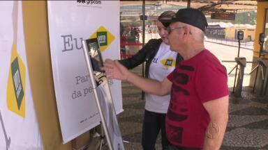 Veja os principais pedidos até agora na urna do Voto Consciente - A urna do Voto Consciente está percorrendo os terminais de ônibus de Curitiba, para saber a opinião dos eleitores sobre as prioridades para o governo do Paraná, a partir de 2015