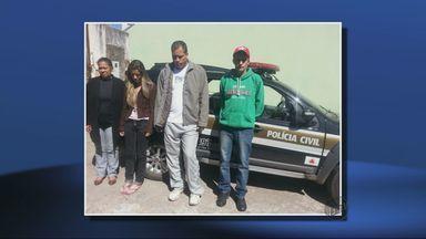 Quadrilha suspeita de tráfico e assassinato é presa em Campestre - Quadrilha suspeita de tráfico e assassinato é presa em Campestre